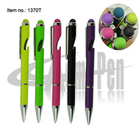Pen with Bottle Opener 3 in 1 Metal Ball pens Touch Stylus Screen Pen Cool Beer Bottle Openers PMS# Logo Ballpoint Pen Promotion