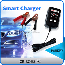 Car Truck Motorcycle Motorboat 6V 12V Convertible Smart Lead Acid generator automatic battery charger