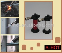 PORTABLE HOME USE BUTANE GAS MICRO TORCH FIRE LIGHTER TORCH GUN