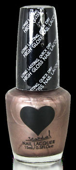 Scandal Heart Nail Polish # 67 Pearl Bronze Scandal Cosmetics