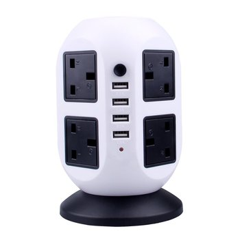 China supplier power cube socket with usb ports,tower power socket,UK standard socket outlet