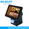 All In One Dual Desktop Touch POS Terminal EP1200 with 80mm Thermal Printer for Restaurant