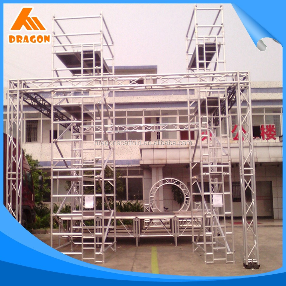 OEM/ODM service painted aluminum mobile scaffold