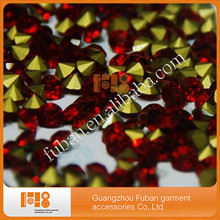 new coming hotfix 5mm crystal point back rhinestones color rhinestone