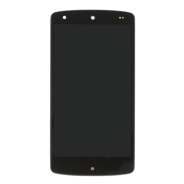 Black lcd for LG Google Nexus 5 D820 D821 lcd display Touch Screen Assembly with frame and free tools, !!! black
