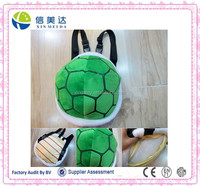 EN71 supported Super mario Turtle shell fashion backpack