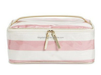 Stripes Large Cosmetics Case