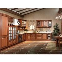 Modern design PVC membrane kitchen cabinet