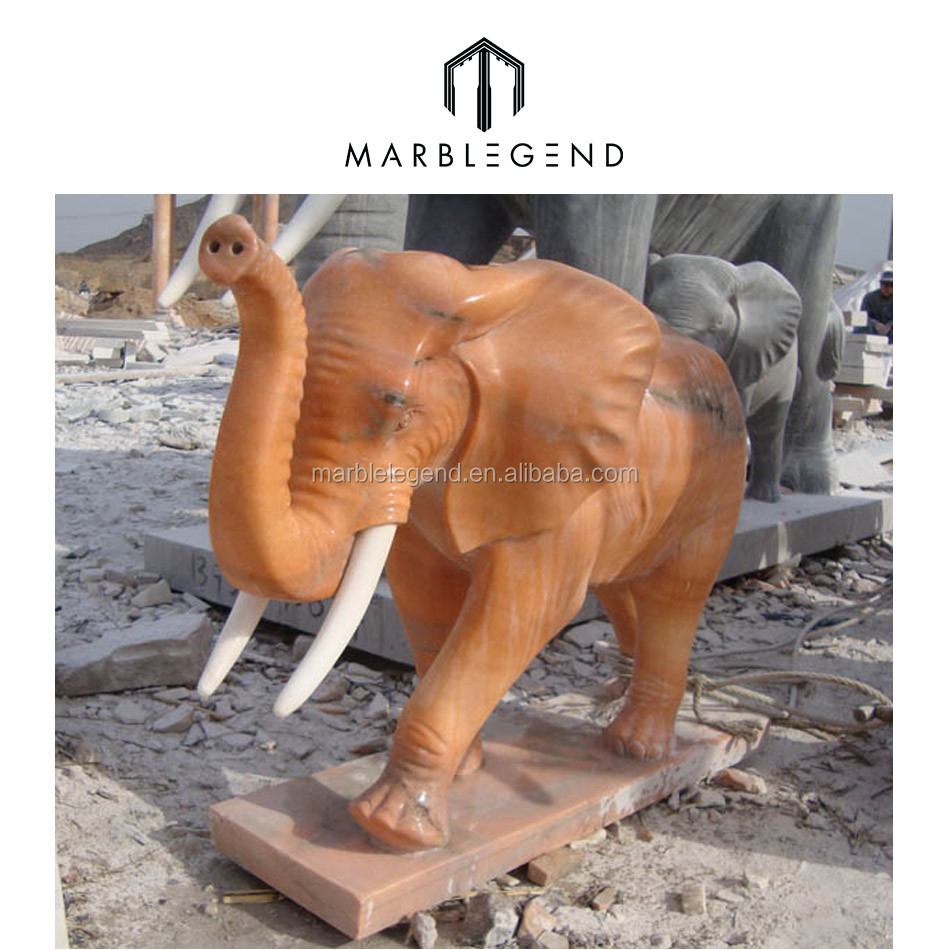 Personalized Antique Marble Elephant Statues For Sale