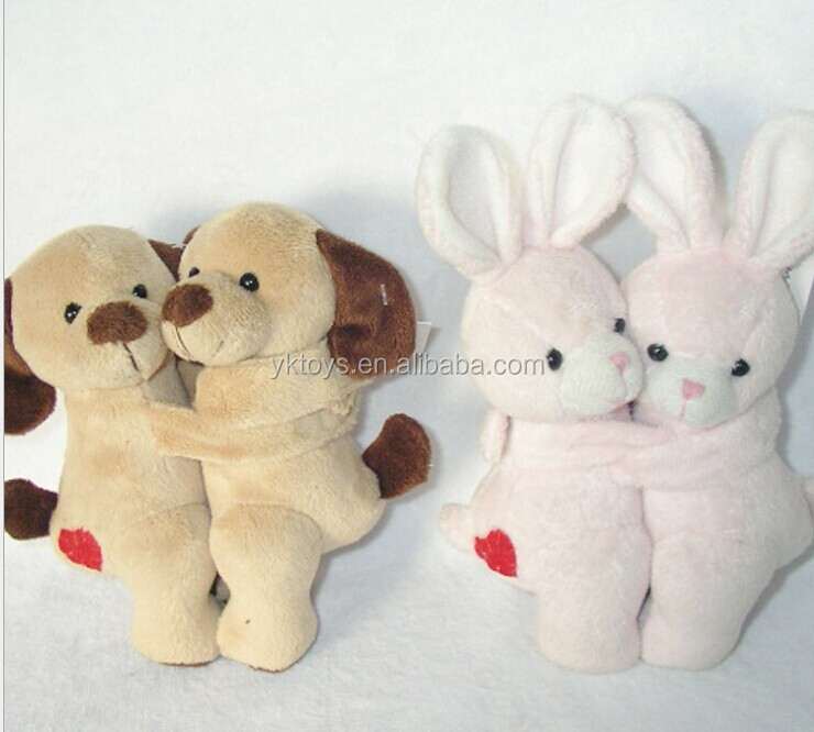 Embrace the dog and rabbit plush play Super soft plush toy