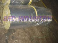 Glass wool heat insulation price CE glasswool with aluminum foil faced