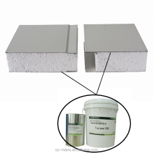 two-component polyurethane glue for bonding rook wool, PU foam, expanded polystyrene foam board