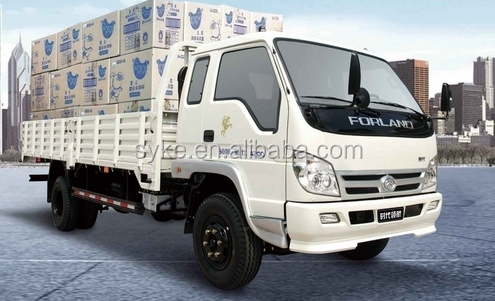 China foton brand mini 4x4 diesel fuel 4 ton delivery truck