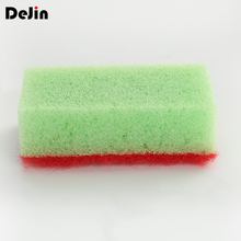 Hot sale household galvabuzed microwaving sponges scouring pad for cleaning