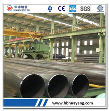 Large diameter LSAW Steel Pipe Longitudinal Submerged-Arc Welded Steel Pipe oil tube gas pipeline