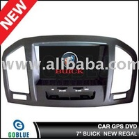 7 inch car dvd player speical for BUICK NEW REGA with high resolution digital touch screen,gps,bluetooth,TV,radio,ipod,CAR MP3