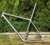 titanium mtb bike frame with long seat tube mountain bike road bike frame