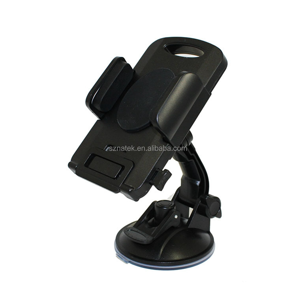 Wholesale 360 Rotating Dashboard Car Mobile Phone mount Holder Windshield Car Mount stand support for smartphone