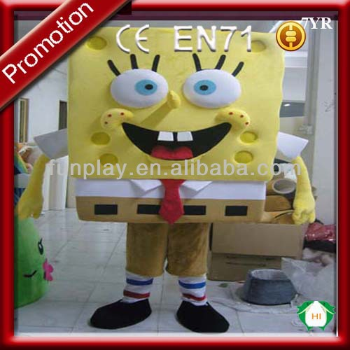 hot sale spongebob mascot costumes