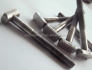 Carbon Steel Nonstandard Fasteners Making Machine Hammerhead T Bolt
