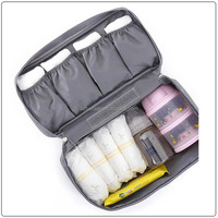 Wholesale cheap promotion travel organizer makeup bag cosmetic bag set
