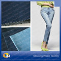 SH-J290 10.0oz New Style 98 Cotton 2 Spandex Knitted Denim Fabric for Garments
