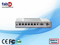 6 LAN Rackmount server, Fanless firewall gateway mini computer