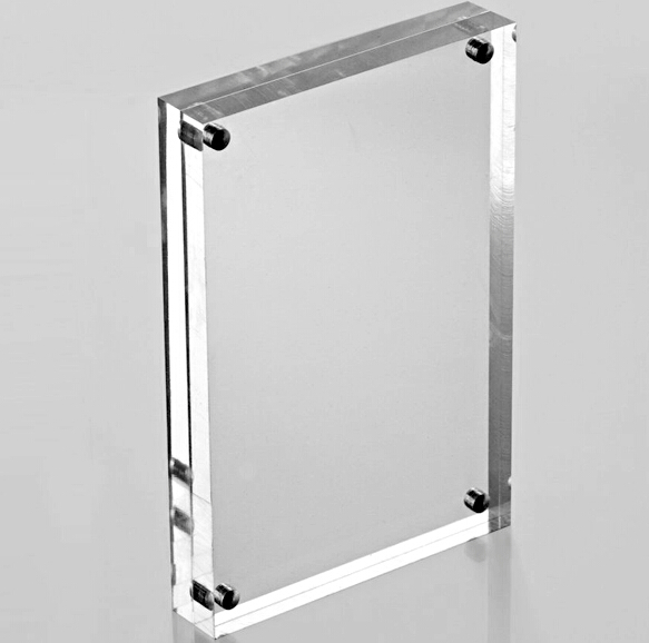 Transparent Acrylic Double Sided Photo Picture Frames