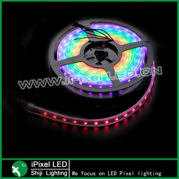 Programmable 5m ws2812b RGB LED Flexibel Strip light SMD 5050