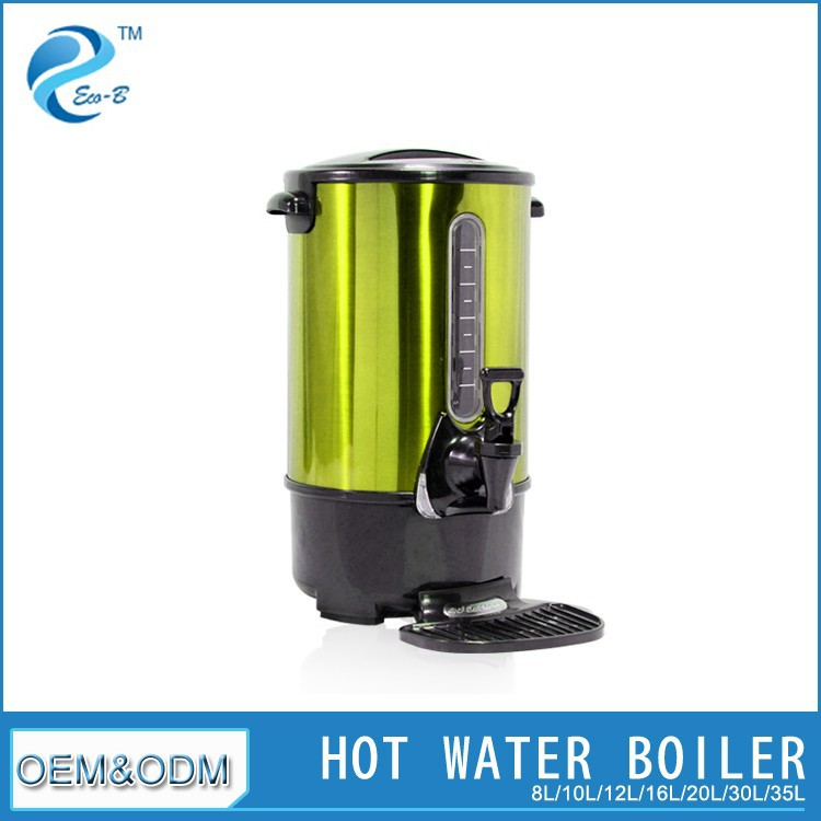 Industrial Colorful Stainless Steel Electric Hot Water Pot