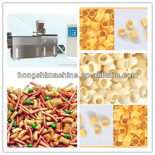 Alibaba express Popular automatic puffed corn snacks process line