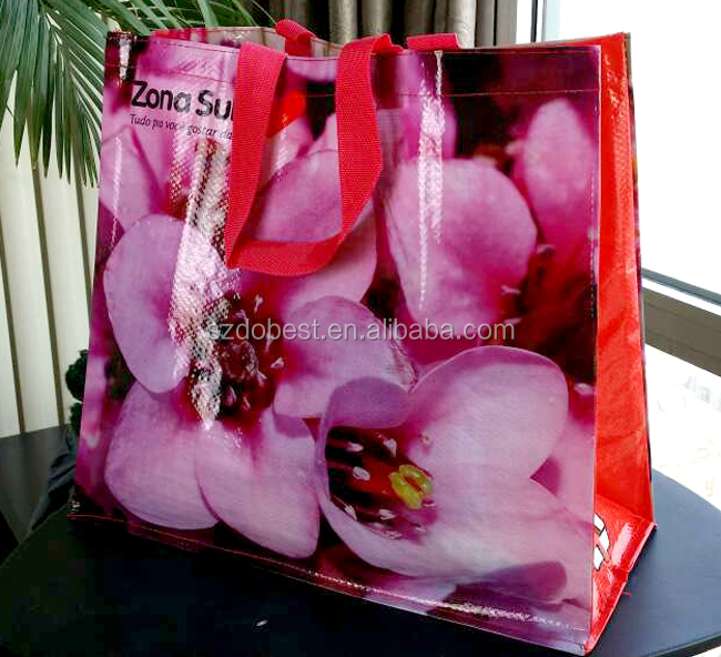 2016 NEW customized brand pp non woven bags made in China