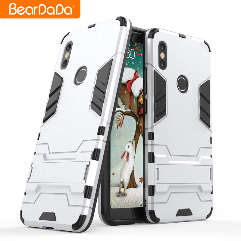 Flexible Price tpu pc kickstand mobile phone back cover case for xiaomi redmi s2 <strong>y2</strong>
