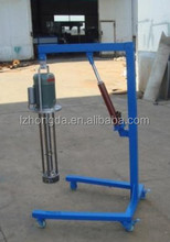 Moveable high speed shear emulsion equipment used for emulsion
