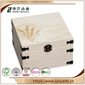 2017 Whole sale exquisite Wooden essential oil packaging boxes