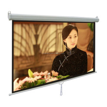 front office equipment manual projection screen with pure matte white