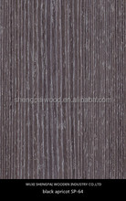 cheap commercial apricot plastic wood veneer sheets for furniture,floor,door is popular in chima
