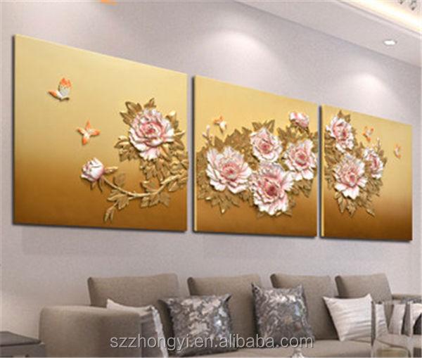 anao de jardim resumo:Resina painel de parede 3d decoração da parede pinturas da flor
