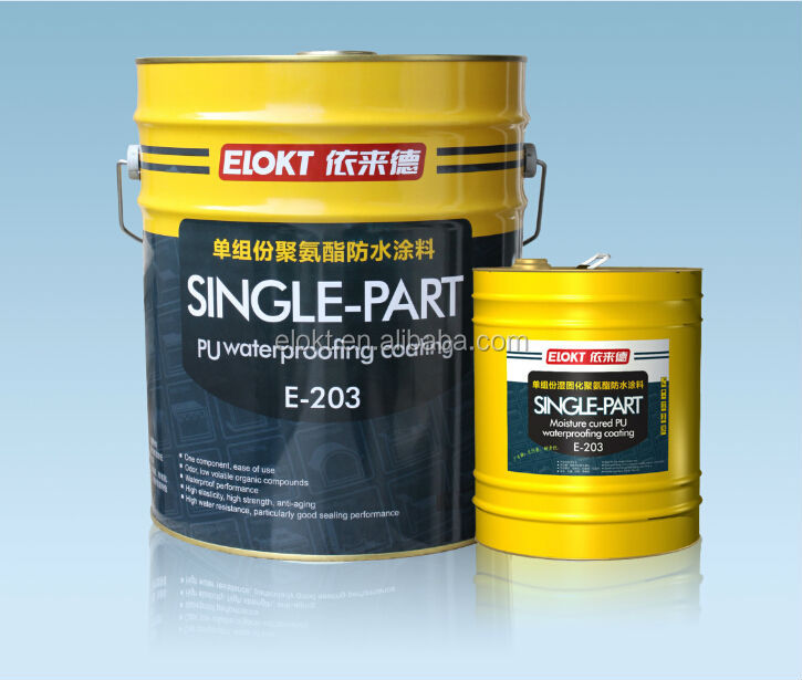 Bathroom/Roof Polyurethane Waterproof Roof Paint