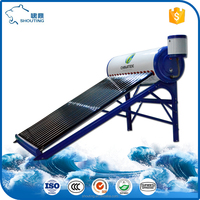 Renewable Solar Energy Hot Water Heater System
