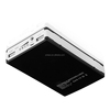 AMJ-7104 li polymer battery with flashlight USB IPHONE IPOD MP3 mobile phone travel emergency charger
