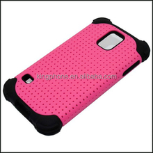 wholesale cheap silicone mesh phone case for samsung galaxy s5