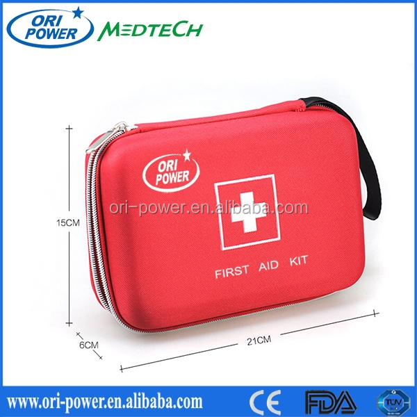 Wholesale Manufacture CE FDA approved oem promotional emergency medical outdoor wilderness first aid kits