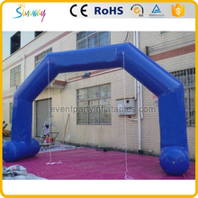 High quality PVC sewing inflatable entrance arch gate design for advertising