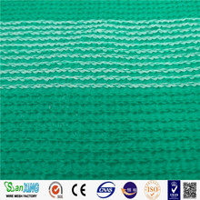 Drawing Plastic Modling Type green elastic shade net agriculture sun shade netting PE plastic shade net with UV