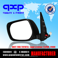 auto side mirror for toyota land crusier prado FJ150 2012 folding heating LED blinker
