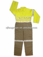 DFW-P515 Men's Industrial Safety Reflective Strip Coverall with Reflective tape