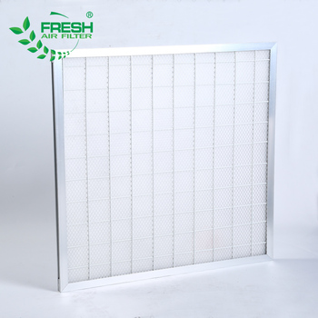 G2 G3 G4 clean room fresh air venting units machine polyester fiber glass fiber washable panel pre-filter