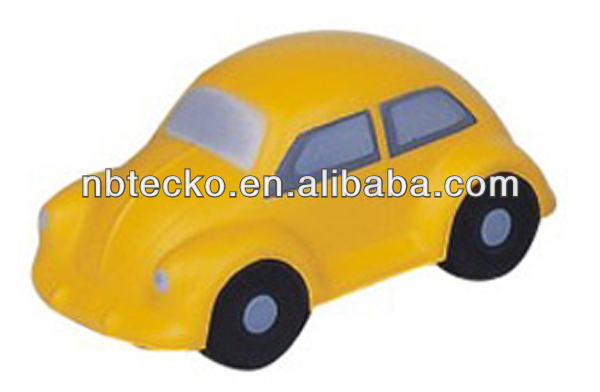 PU beetle car/anti stress toy/hand squeeze toy