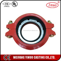 Casting iron reducer Flexible Pipe Couplings
